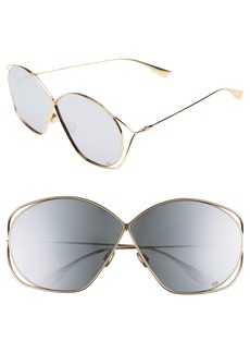 Dior Stellaire 2 68mm Oversize Butterfly Sunglasses