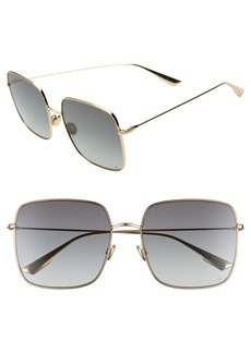 Christian Dior Dior Stellaire 59mm Square Sunglasses