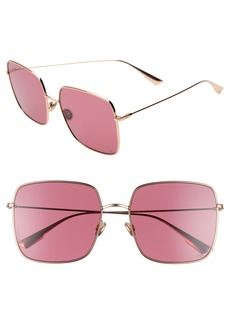 83708047cfc Christian Dior Dior Stellaire 59mm Square Sunglasses