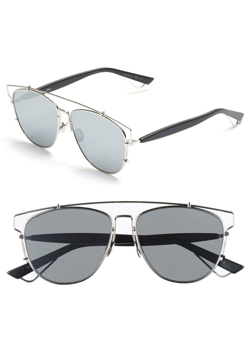 Christian Dior Dior Technologic 57mm Brow Bar Sunglasses Now  351.00 b74b8da5c113