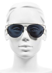 Christian Dior Dior Technologic 57mm Brow Bar Sunglasses