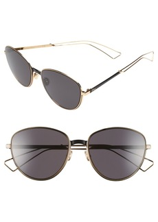 Dior 'Ultradior' 56mm Aviator Sunglasses