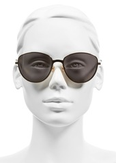 Christian Dior Dior 'Ultradior' 56mm Aviator Sunglasses