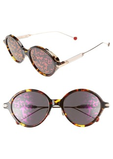Dior Umbrage 52mm Round Sunglasses