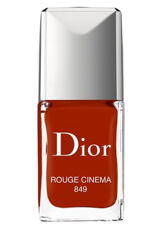 Christian Dior Dior Vernis Gel Shine & Long Wear Nail Lacquer - 849 Rouge Cinema