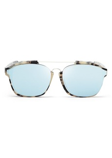 Christian Dior Dior Women's Abstract Square Mirrored Sunglasses, 58mm