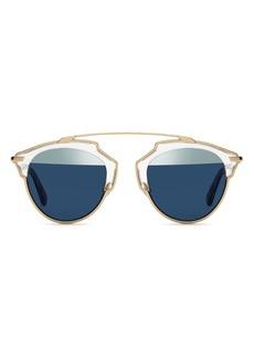 Christian Dior Dior Women's So Real Split Lens Mirrored Sunglasses, 48mm