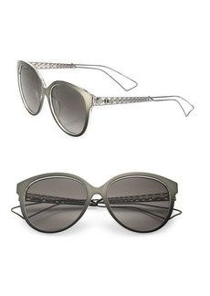 Christian Dior Diorama 2 56MM Oval Sunglasses