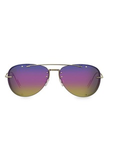 Christian Dior DiorChroma1 59MM Aviator Sunglasses