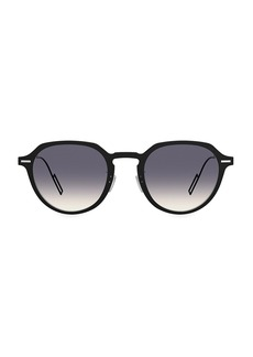 Christian Dior DiorDisappear1 49MM Round Sunglasses