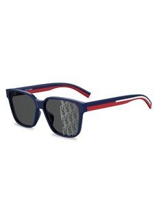 Christian Dior DiorFlag3 59MM Square Sunglasses