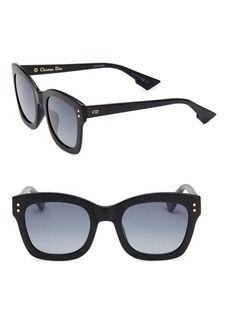 Christian Dior Diorizon 2 51MM Square Sunglasses