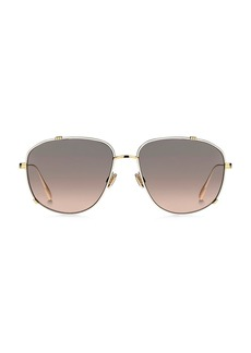 Christian Dior DiorMonsieur3 56MM Square Sunglasses