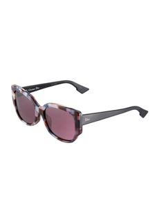 Christian Dior Diornight Oversized Round Acetate Sunglasses