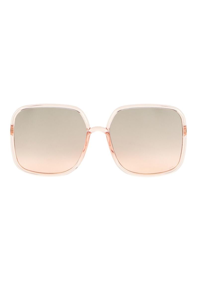 Christian Dior DiorSoStellaire1 Square Sunglasses