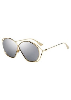 Christian Dior DiorStellaire 2 Round Cutout Sunglasses