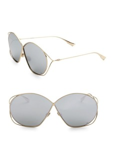 Christian Dior DiorStellaire2 68MM Wire Sunglasses