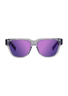 Christian Dior Diorxtrem SI 57MM Plastic Rectangular Sunglasses