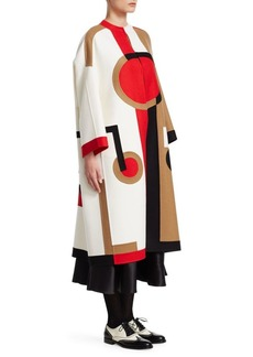 Christian Dior Double Face Intarsia Coat