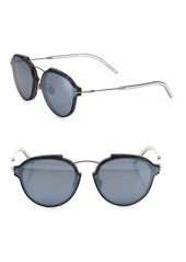 Christian Dior Eclat 60MM Mirrored Oval Sunglasses