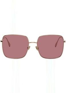 Christian Dior Gold & Pink DiorStellaire01 Sunglasses