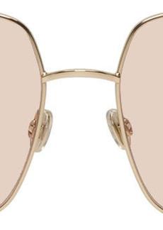 Christian Dior Gold & Pink DiorStellaire1 Sunglasses