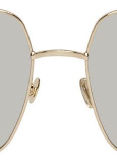 Christian Dior Gold & Silver DiorStellaire1 Sunglasses