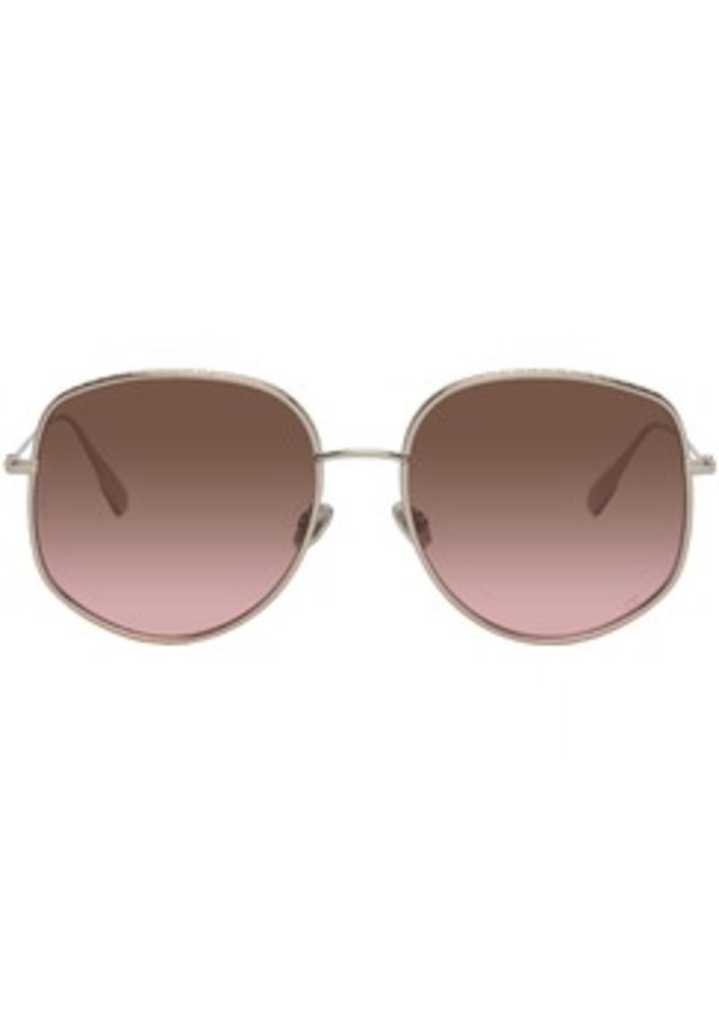 Christian Dior Gold DiorByDior2 Sunglasses