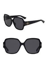 Christian Dior Lady Dior Studs 57MM Square Sunglasses