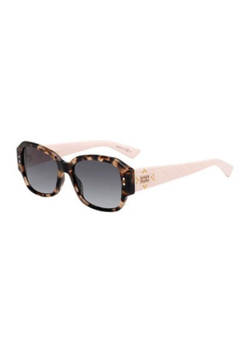 Christian Dior Lady Dior Studs Rectangle Sunglasses