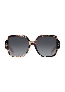 Christian Dior LadyDior 57MM Square Sunglasses