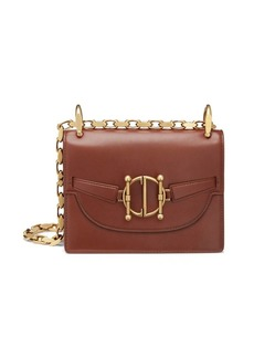 Christian Dior Leather Diordirection Flap Bag