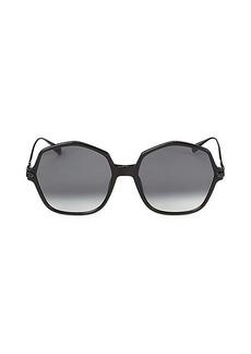Christian Dior Link 2 59MM Hexagonal Sunglasses