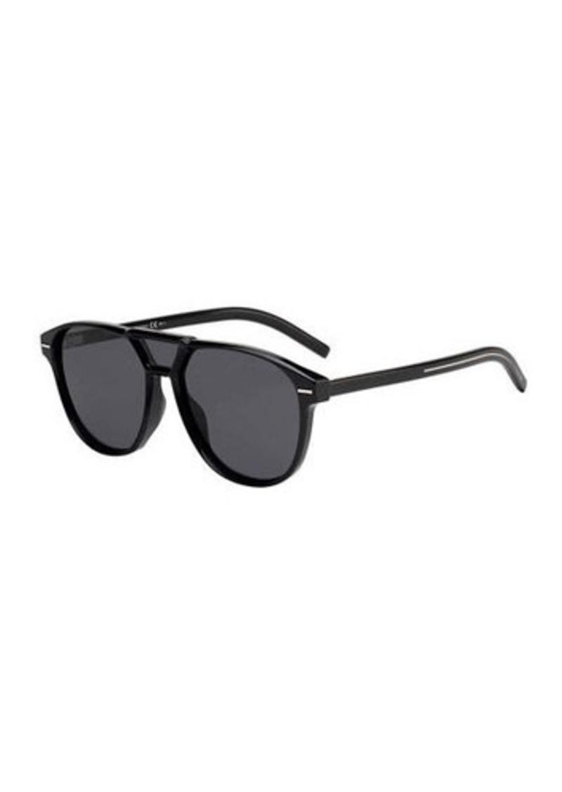 Christian Dior Men's Square Extended-Lens Grilamid Sunglasses