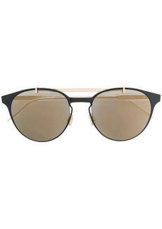 Christian Dior metal bar detail sunglasses