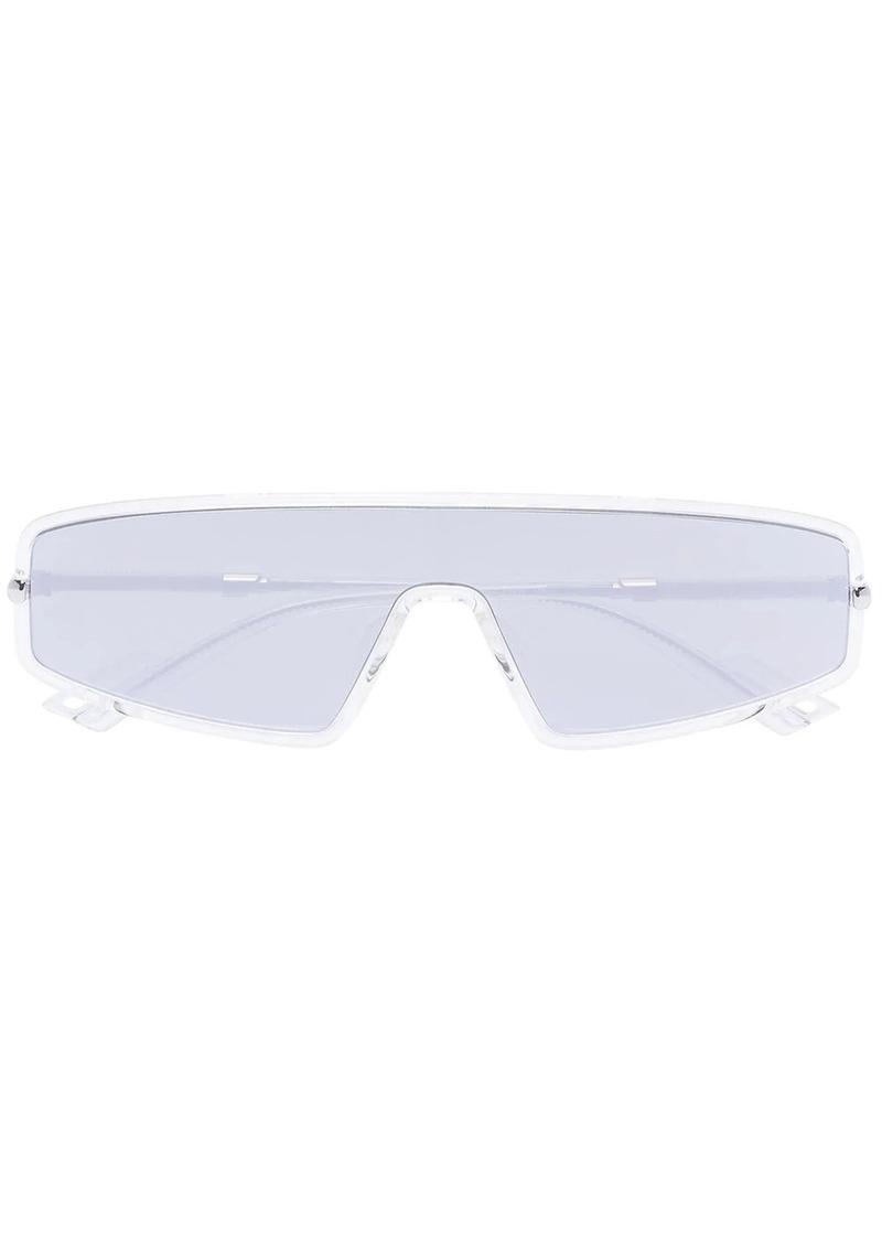 Christian Dior mirrored aviator-style sunglasses