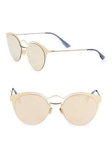 Christian Dior Nebula 54MM Round Sunglasses