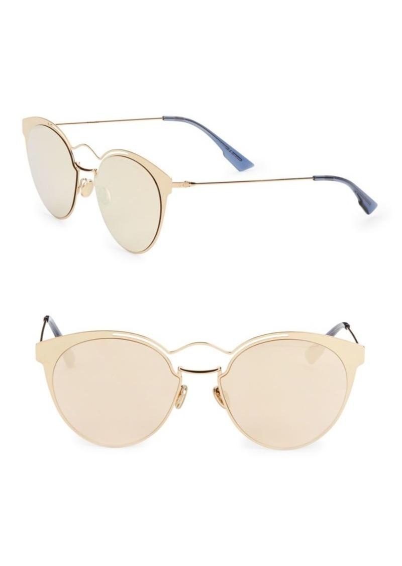 Christian Dior Nebula 54MM Round Sunglasses   Sunglasses 264fd9645bd9