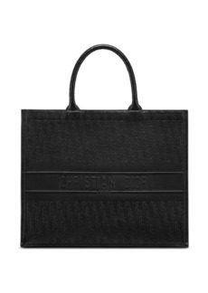 Christian Dior Oblique Embossed Leather Dior Book Tote