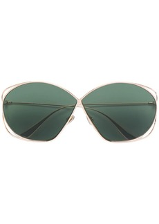 Christian Dior oversized tinted lens sunglasses