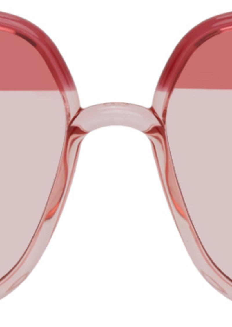 Christian Dior Pink & Burgundy DiorSoStellaire1 Sunglasses