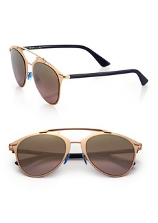 Christian Dior Reflected 52MM Modified Pantos Sunglasses