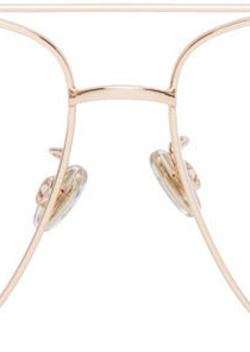 Christian Dior Rose Gold Aviator STELLAIRE014F Glasses