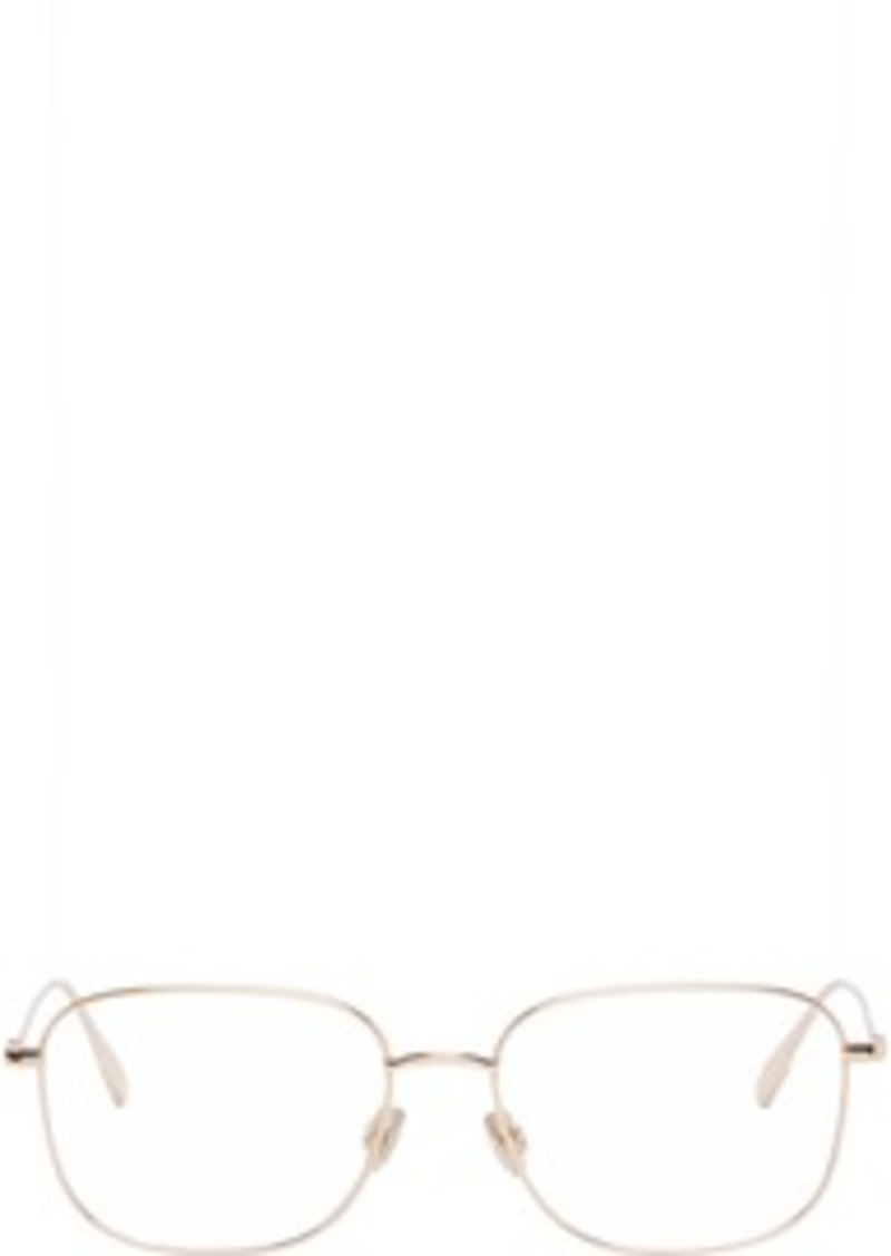 Christian Dior Rose Gold Square Metal STELLAIREO13 Glasses