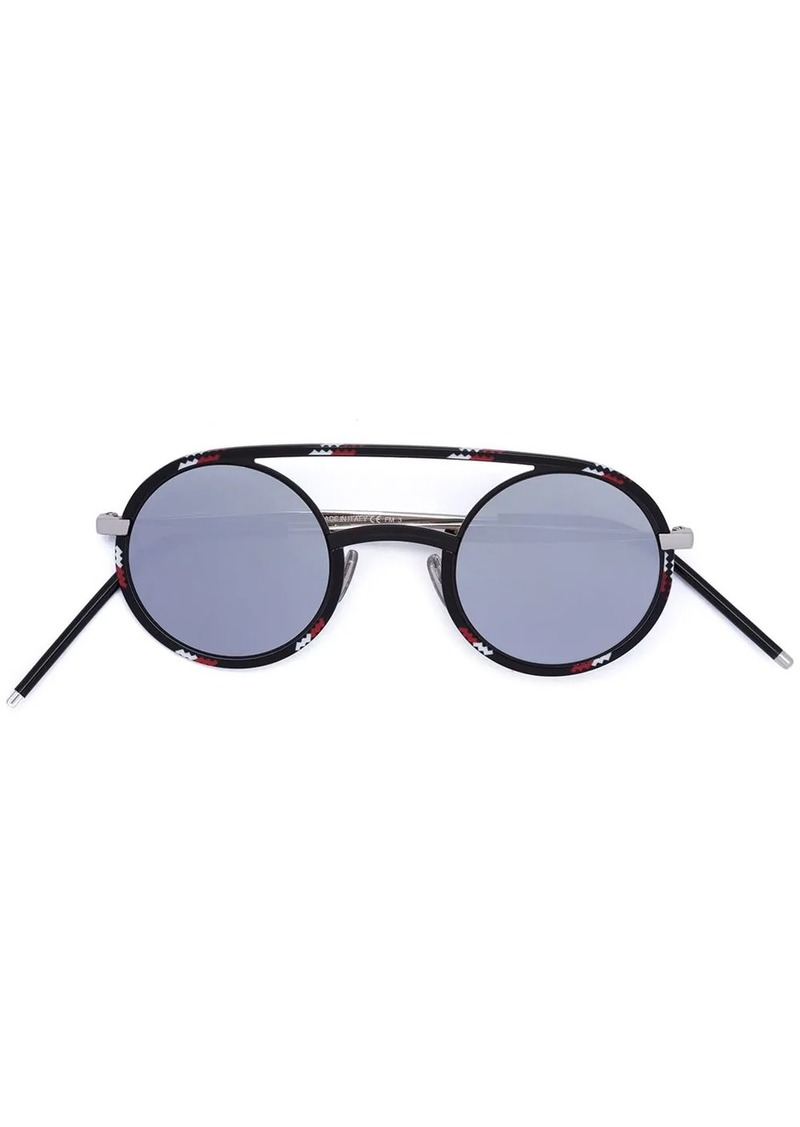 Christian Dior Synthesis round sunglasses