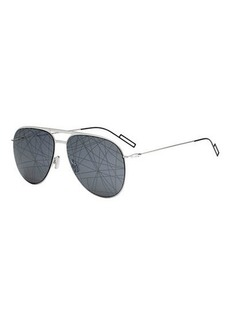 Christian Dior Scribble-Lens Aviator Sunglasses