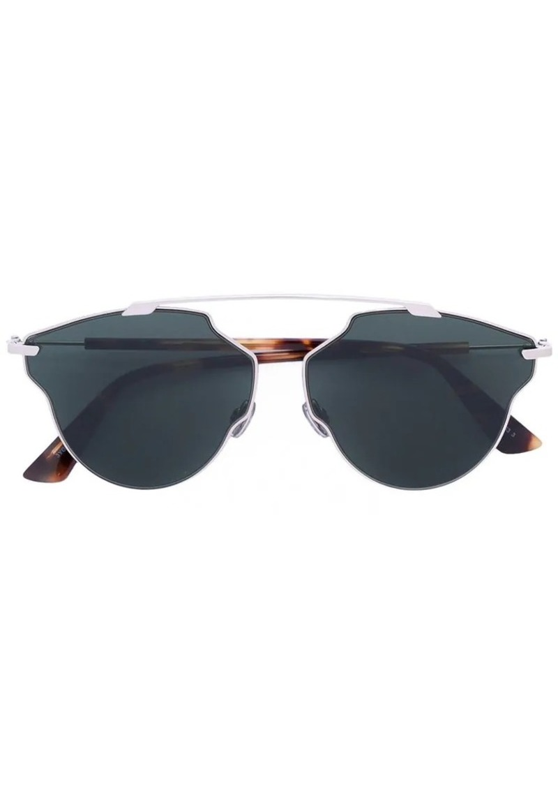 c0d939454c Christian Dior so real pop green sunglasses