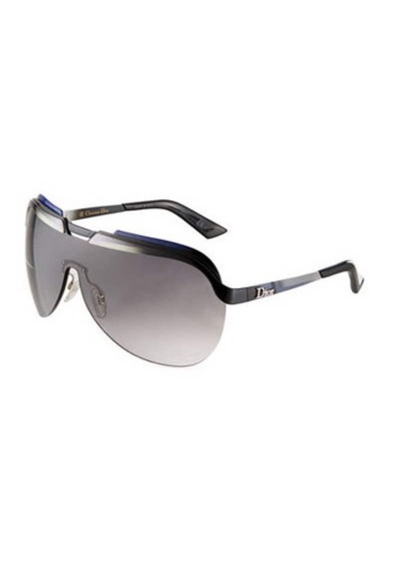291389b54412e On Sale today! Christian Dior Solar Multicolor-Bar Shield Sunglasses