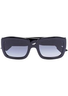 Christian Dior square frame sunglasses