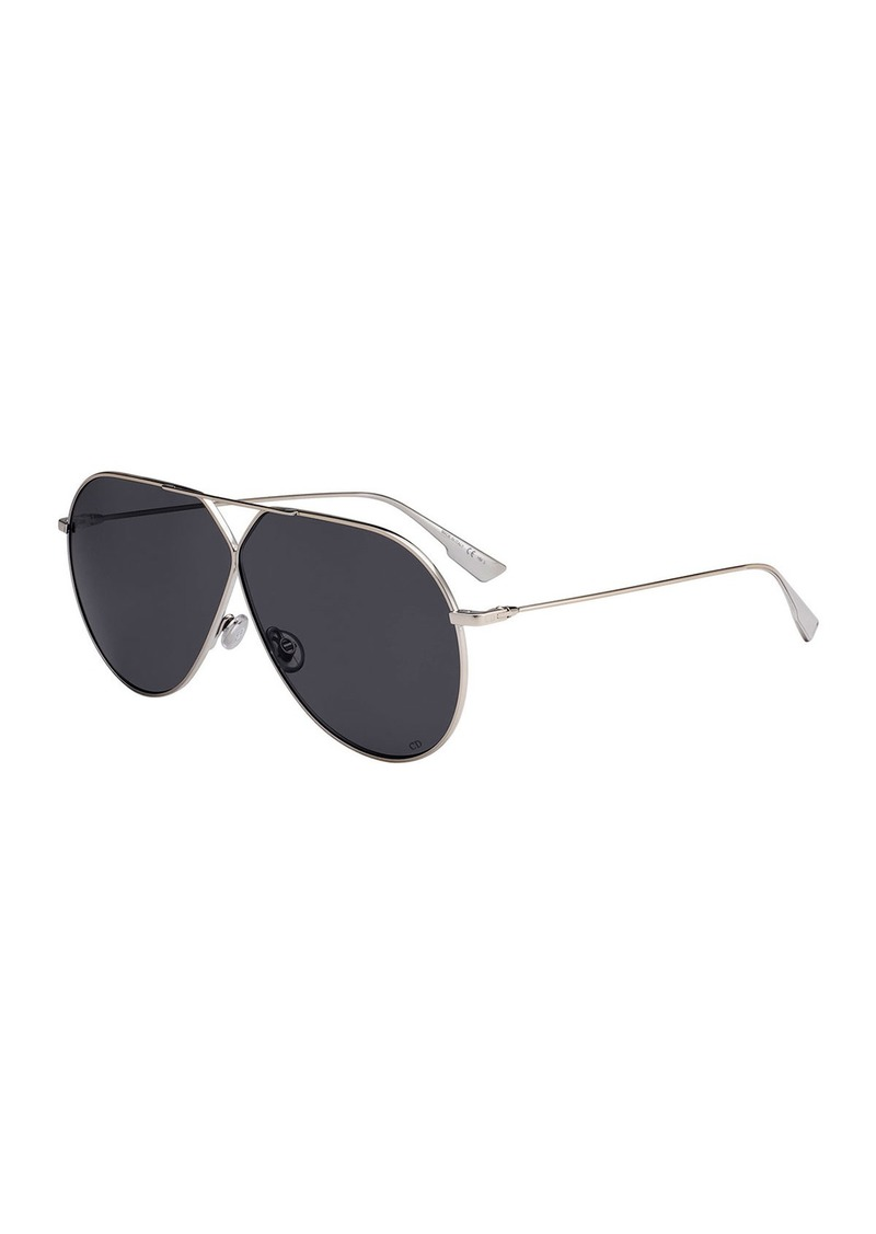 Christian Dior Stell3 Mirrored Aviator Sunglasses